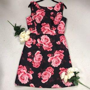 """NWT KATE SPADE DRESS """" rambling roses"""" Sz 8"""